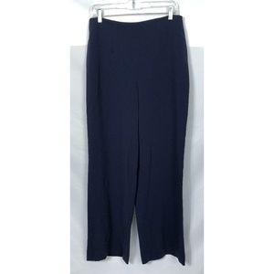 Aritzia Babaton Navy Wide Leg Pants